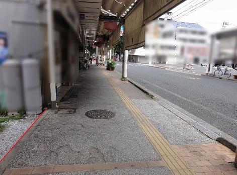 【前面道路含む現地写真】菜園場町