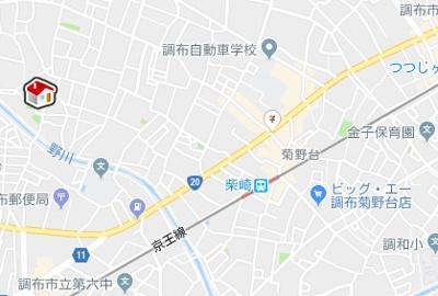 【地図】レオパレスソルヴェーグ(39170-206)