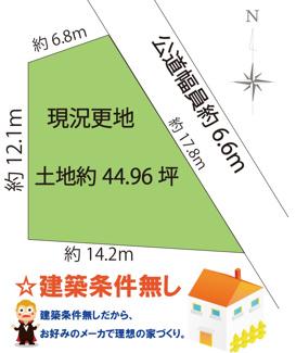 【土地図】上野東1丁目土地