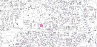 【地図】上野東1丁目土地