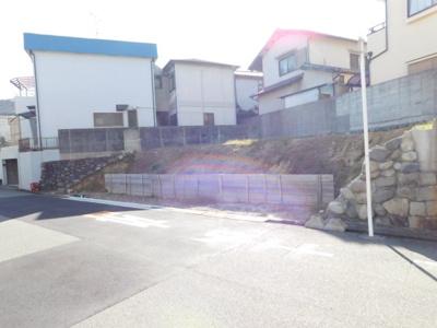 【前面道路含む現地写真】上野東1丁目土地