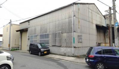 【外観】堺区柏木町倉庫! 1F約89坪!2F事務所スペース、駐車スペースもあり!