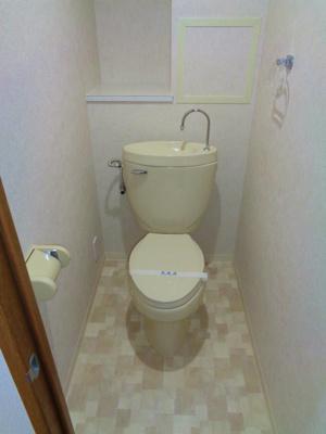 【トイレ】オレンジフラット