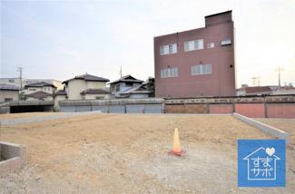 2号棟 現地(2019年9月)撮影 12月完成予定です。 敷地面積151.83㎡(45.92坪)。 駐車2台可能です。