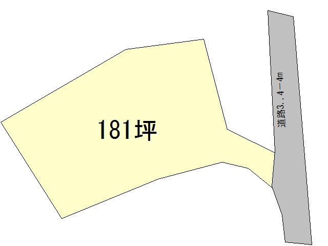 【土地図】北杜市須玉町小尾