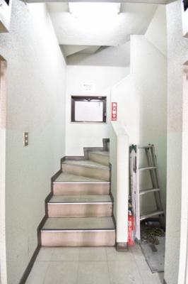 階段スペースです。