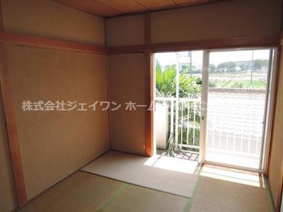 【寝室】サンハイツ2(田谷)