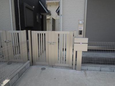 【エントランス】台5丁目貸家A棟