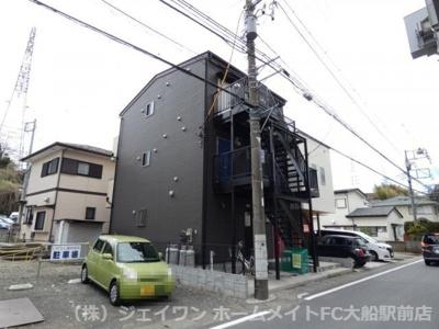 【外観】(仮称)山崎新築アパート