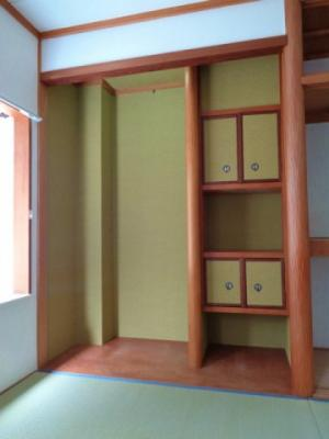 和室6畳 床の間