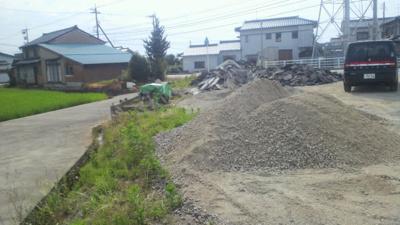 【外観】立石 売地