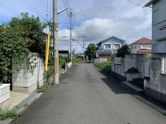 【前面道路含む現地写真】太田荘園H邸