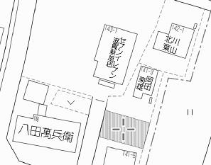 【土地図】熊野本コンビニ南53坪土地