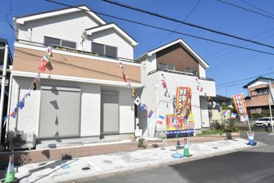 【外観】鴻巣市大間4丁目 新築一戸建て全2棟