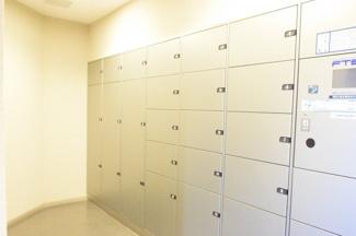 アクアステージグランアルト越谷レイクタウン ・24時間いつでも受け取れる宅配ボックスがあります