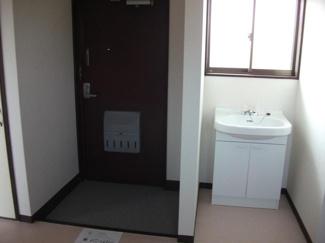 【玄関】とき和コーポB棟
