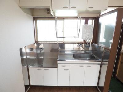 DK 約6帖 2口ガスコンロ設置可能キッチン