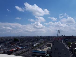 9階 南角住戸ため東京スカイツリー、東京タワーが望めます 日神パレステージせんげん台