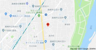 【地図】リヴェール深沢 (株)Roots