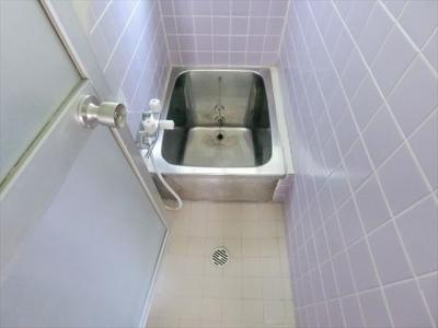 【浴室】倉本借家