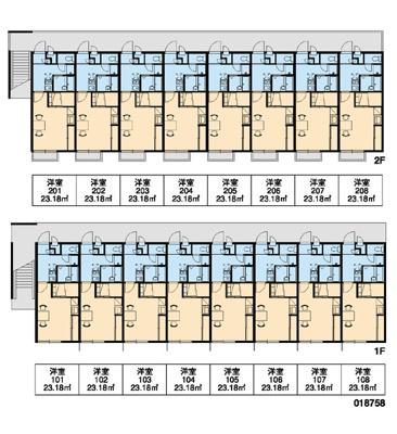 【区画図】恵比寿Ⅱ