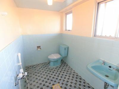 【トイレ】(管理)山里アパート