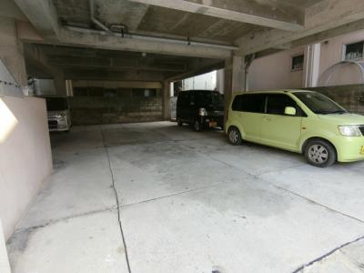 【駐車場】(管理)山里アパート