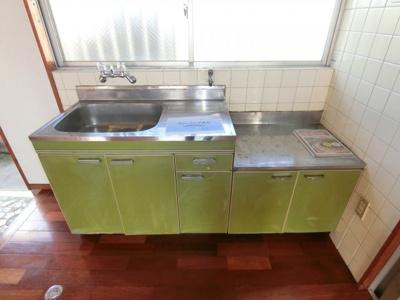 【キッチン】(管理)山里アパート