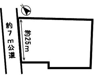 【区画図】53781 山県市富永土地