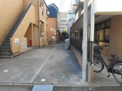 Azure柴又の駐輪スペース☆