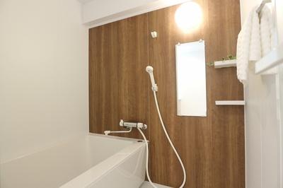 ■広々ゆったり浴室ユニット