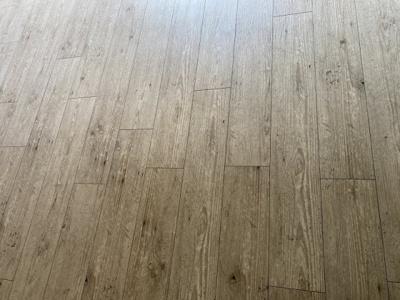 お洒落な床です