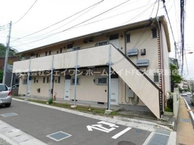 【外観】北鎌倉グリーンハイツA