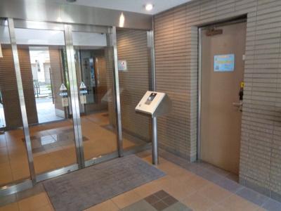 【ロビー】朝日マンション新中野