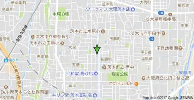 【地図】ヴィラ貴瀬Ⅰ号館