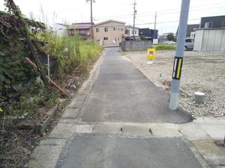 【前面道路含む現地写真】53706 羽島市竹鼻町土地