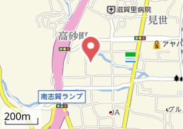 【地図】岩波南志賀貸家
