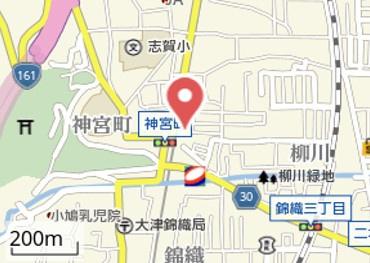 【地図】柳川① デザイナーズハウス