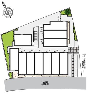 【区画図】ヴィアロ高砂レジデンス