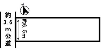 【区画図】53741 岐阜市柳津町南塚土地
