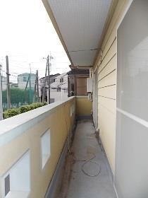 【バルコニー】南区太田窪の貸戸建