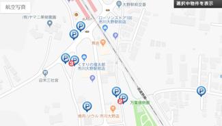 【地図】707