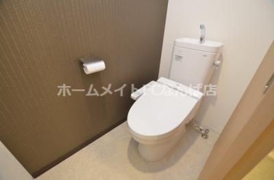 【トイレ】ミラージュパレス難波東レジデンス
