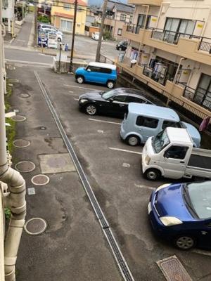 駐車場です  Kワンビル