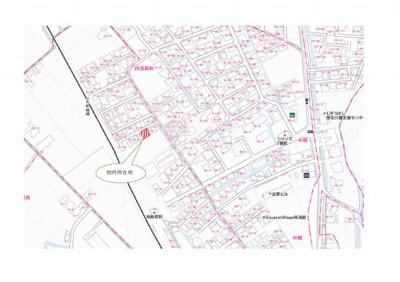【地図】徳島市西須賀町西開No.1
