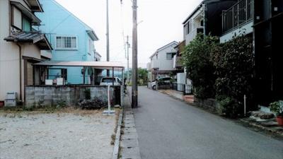 【前面道路含む現地写真】徳島市西須賀町西開No.1