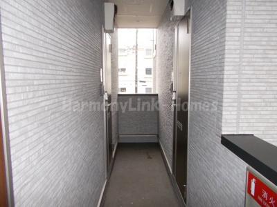 ハーモニーテラス梅田Ⅳの廊下
