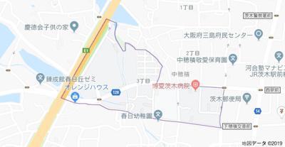【地図】デザインメゾン中穂積