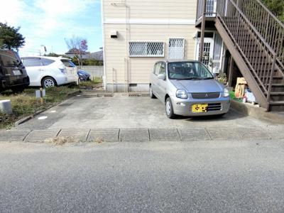 【駐車場】速水アパート