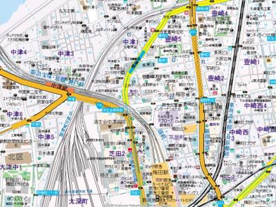 【地図】ザ・セントラルマークタワー
